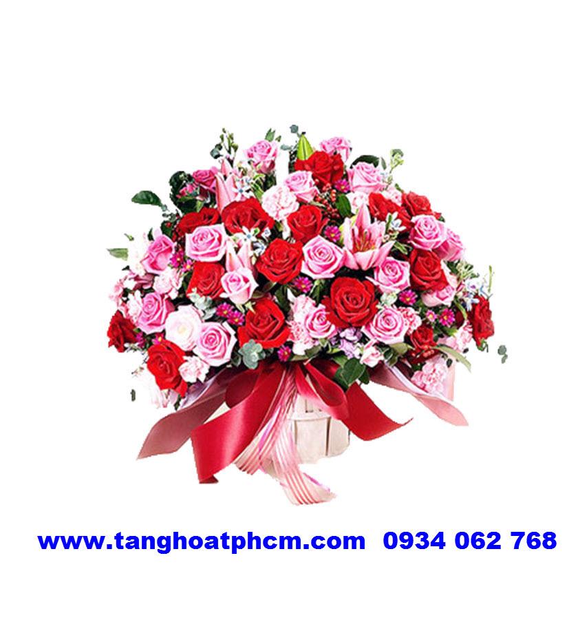 HSN-HT280 Giỏ hoa sinh nhật