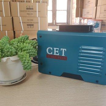 Máy hàn tiết kiệm điện CET MMA-250, Hàng Chính Hãng, Tặng kèm mặt nạ hàn và chổi gõ xỉ