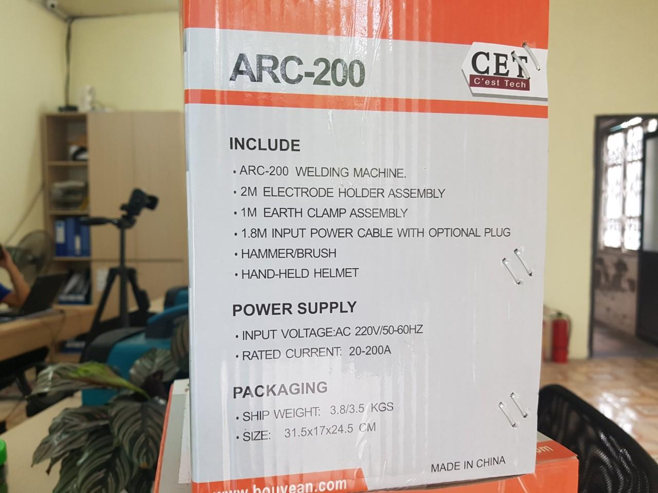 Máy hàn gia đình, Máy hàn cao cấp CET ARC-200
