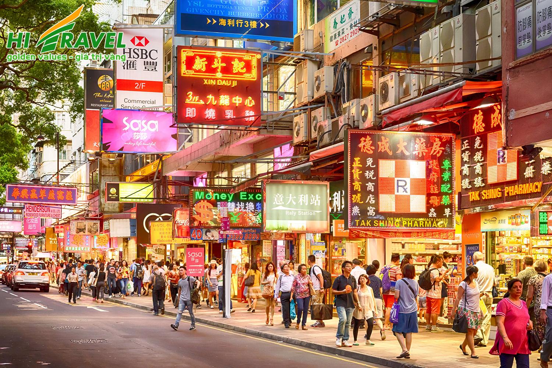 KHÁM PHÁ HONG KONG – KẾT HỢP TỰ DO MUA SẮM