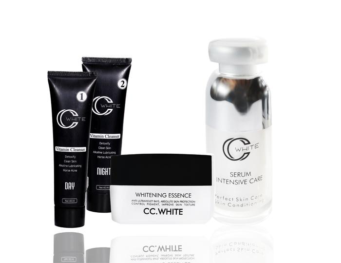 Bộ sản phẩm trị nám CC White