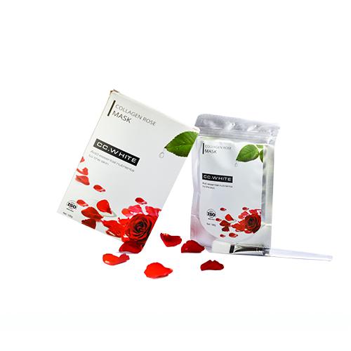 Bột mặt nạ Collagen Hoa Hồng CC White