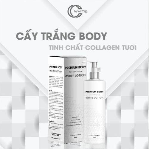 Cấy trắng Body Collagen CC White