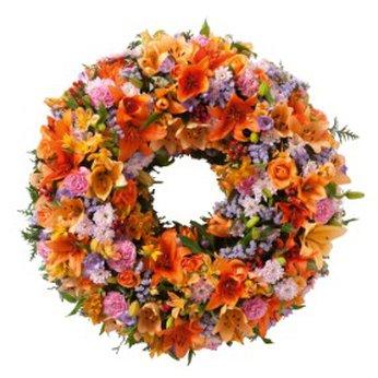 Colorful Wreath Guadeloupe