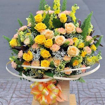 Hộp Hoa tốt Lành