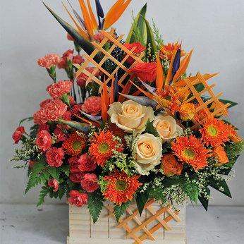 Hộp Hoa Tặng Ngày Lễ Độc Đáo