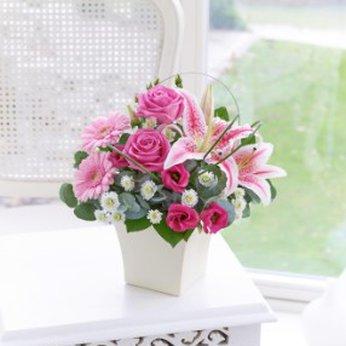 Pink Exquisite Arrangement United Kingdom 500516