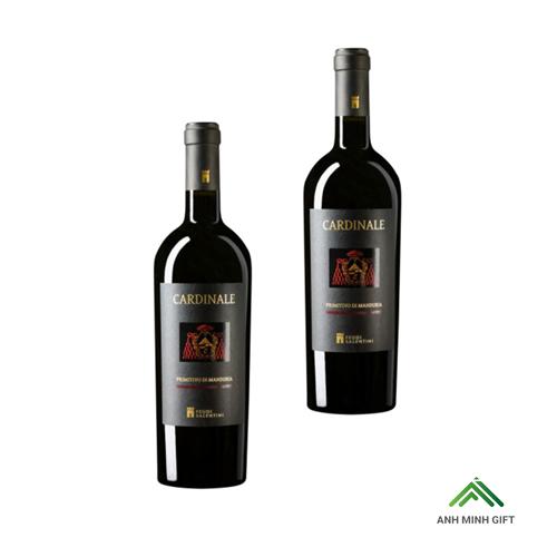 Rượu Vang Đỏ Ý - Cardinale