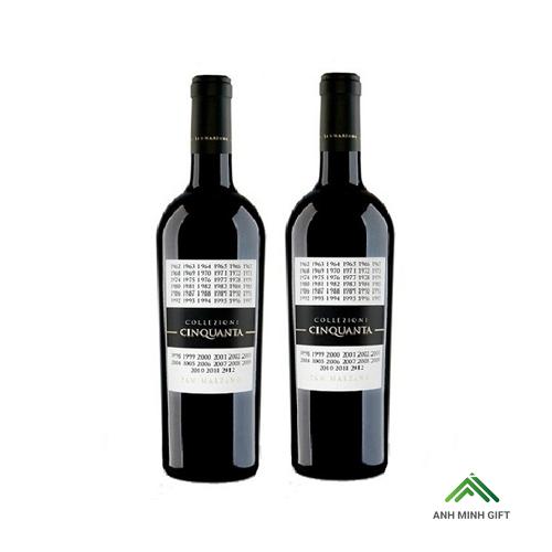 Rượu Vang Đỏ Ý - Collezione Cinquanta