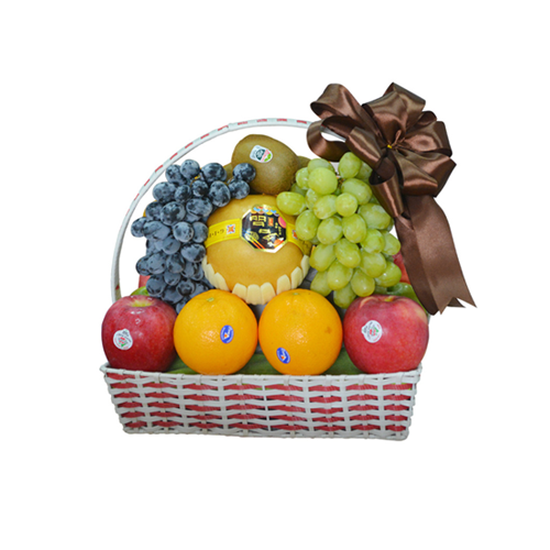 Giỏ quà trái cây cao cấp - Quà tặng tết HCM