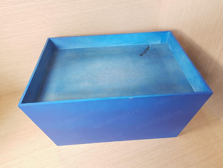 Khay gỗ gói quà tết - Thủy
