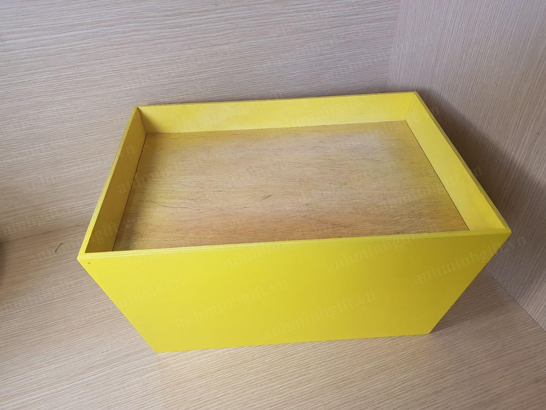 Khay gỗ gói quà tết - Kim