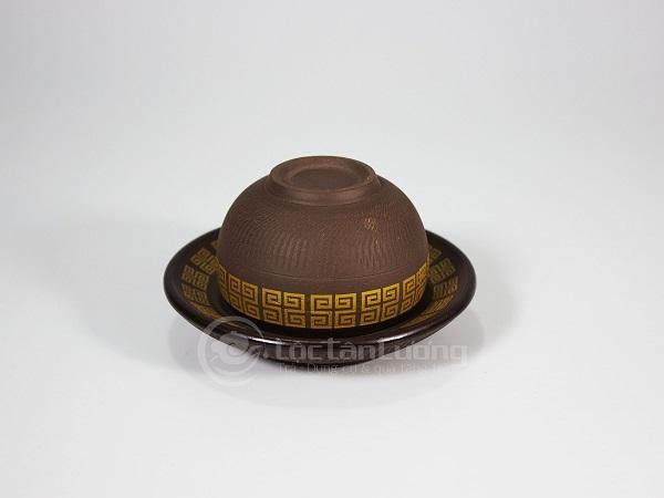 Ấm Tử Sa Bát Tràng Lạc Việt 400ml