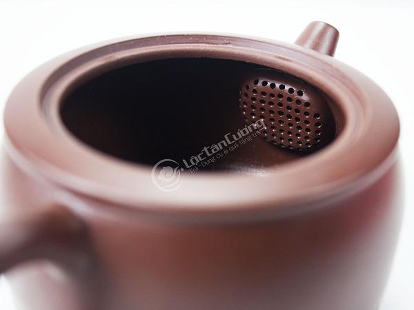 Ấm Tử Sa Nghi Hưng - Dáng Trống Đỏ 220 ml