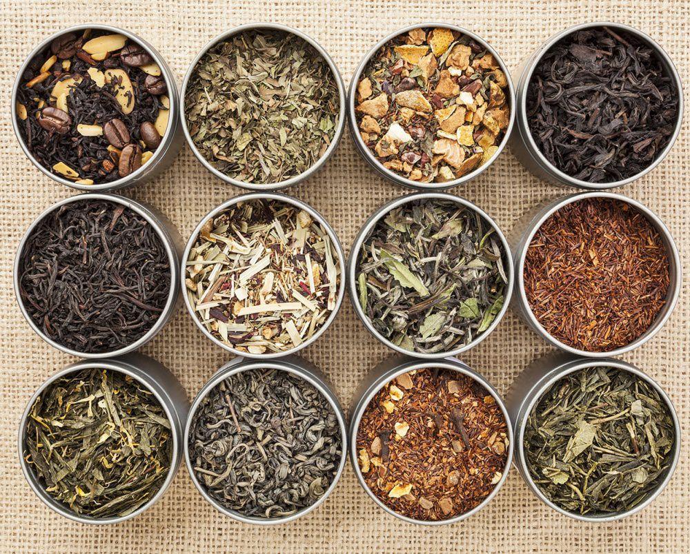 trà thảo mộc thiên nhiên