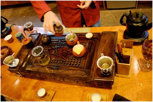 Nghệ thuật thưởng trà Ô lông