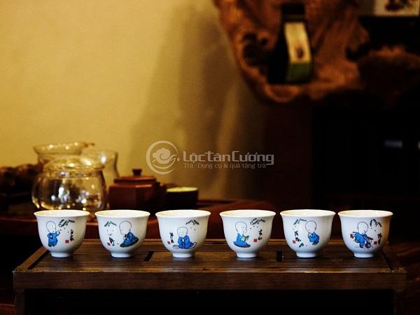 Chén Uống Trà Chú Tiểu