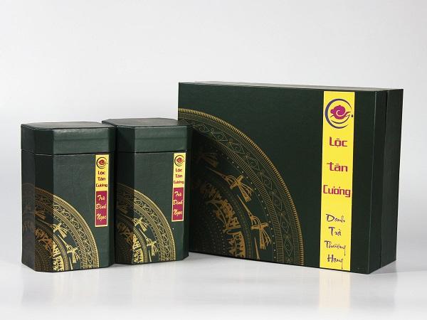 Hộp Trà Truyền Thống - Trà Đinh Ngọc Thái Nguyên