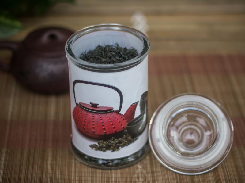 Hủ đựng trà thủy tinh
