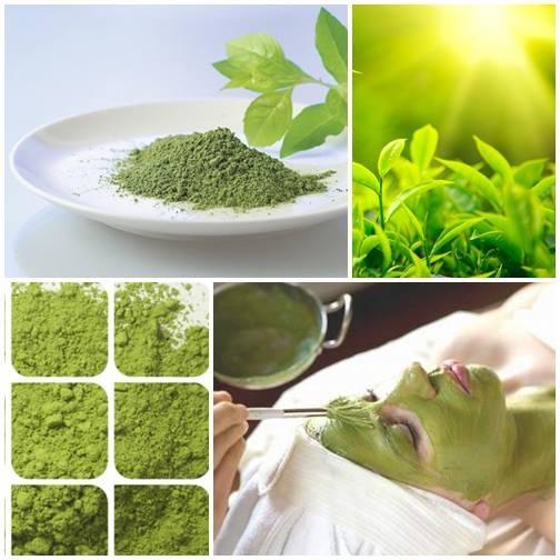 Bột trà xanh Thái Nguyên là nguyên liêu làm đẹp hữu hiệu