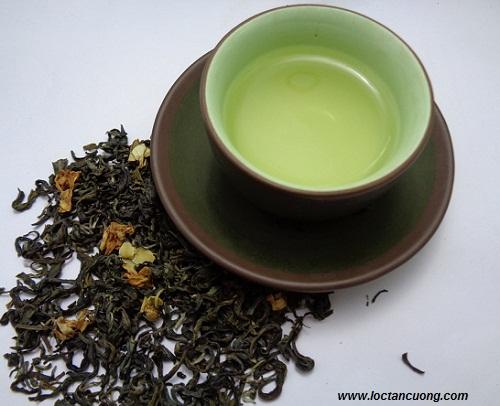 Trà hương lài tự nhiên có hương thơm tinh tế, thuần khiết