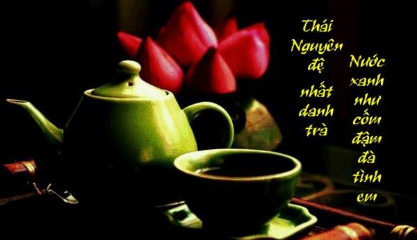 thơ hay về trà thái nguyên