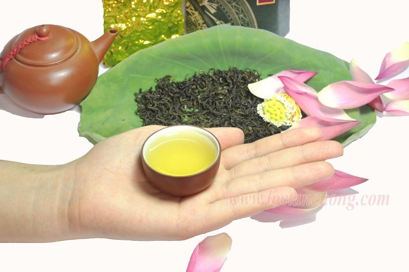 Sản phẩm trà sen Tây Hồ