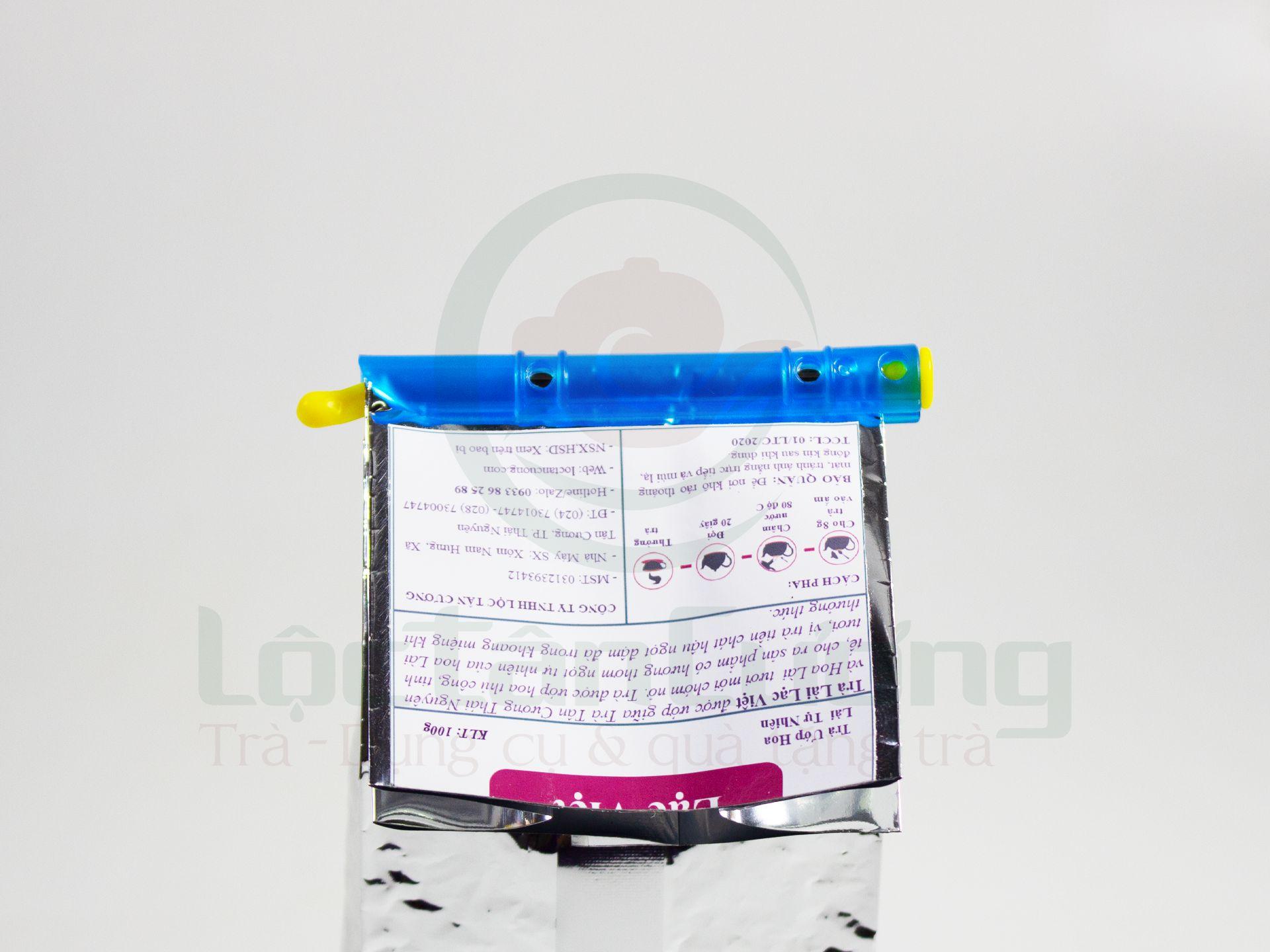 Kẹp Túi Trà Nhựa 500gr