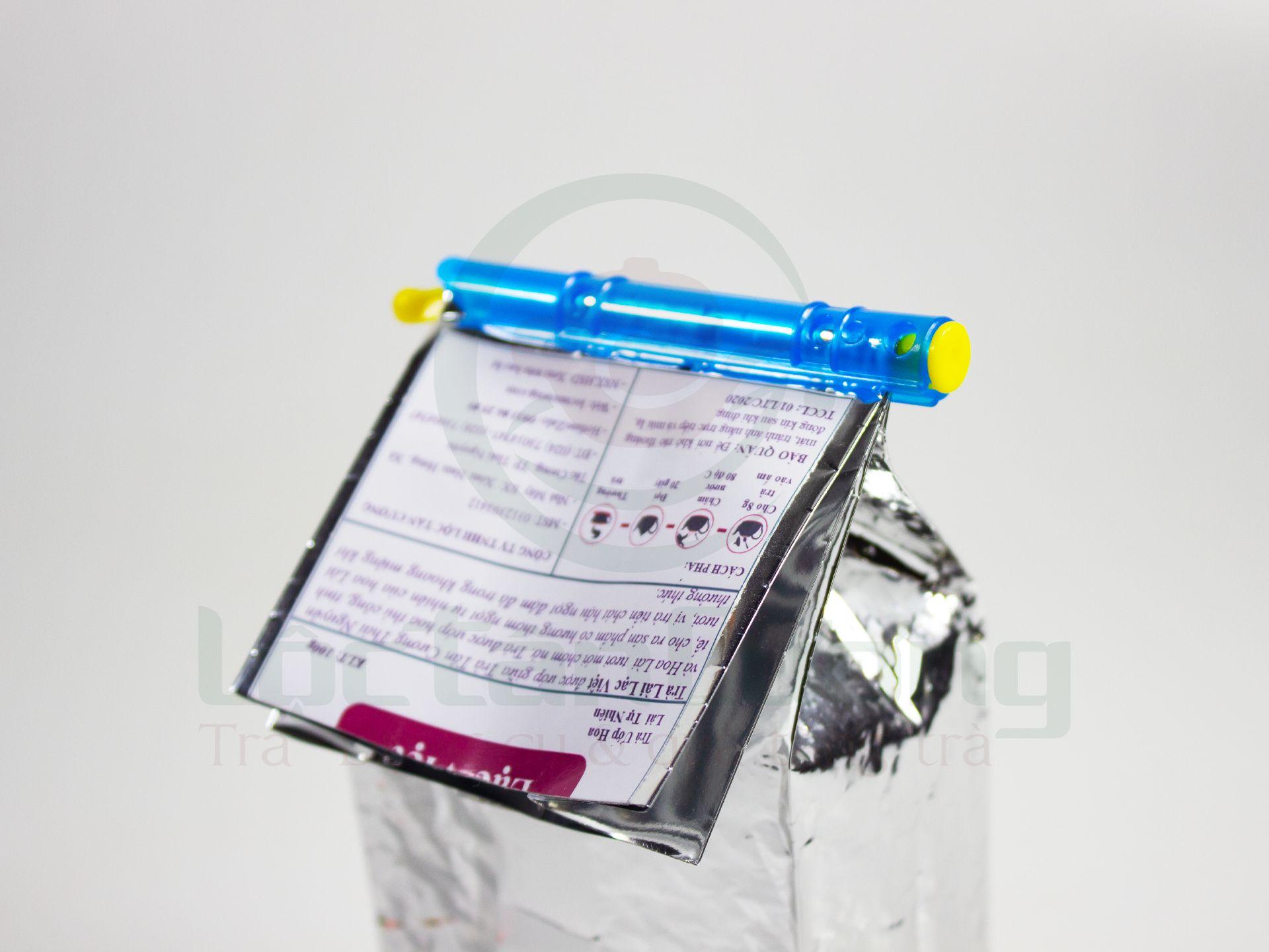 Kẹp Túi Trà Nhựa 100gr