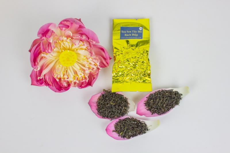 Trà Sen Tây Hồ Bách Diệp 10 gram