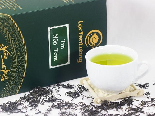 Bảo quản trà nõn tôm ngon