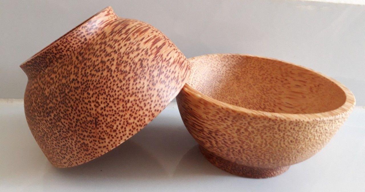 Chén gỗ dừa