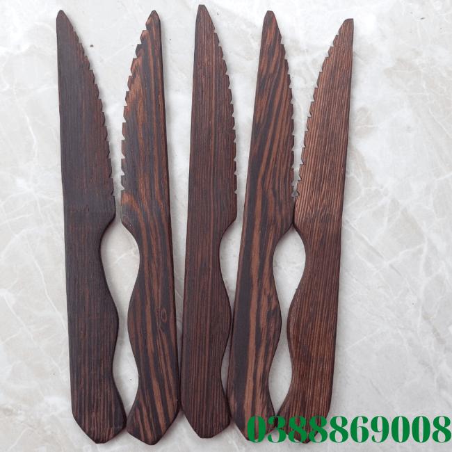 Dao gỗ mun 16cm