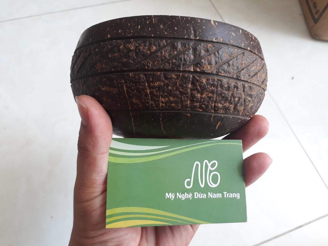 Tô gáo dừa K17 - Mỹ Nghệ Dừa Nam Trang