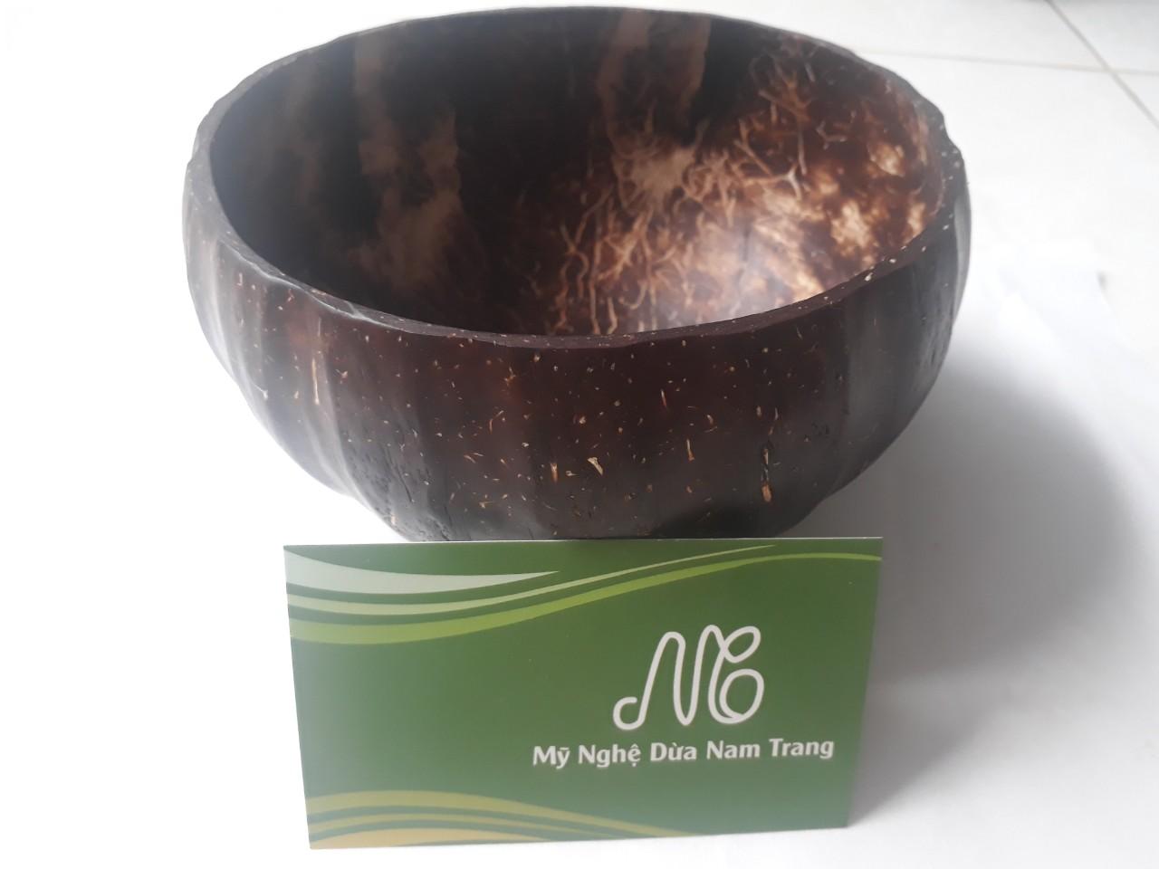 Tô gáo dừa trái bí - Mỹ Nghệ Dừa Nam Trang