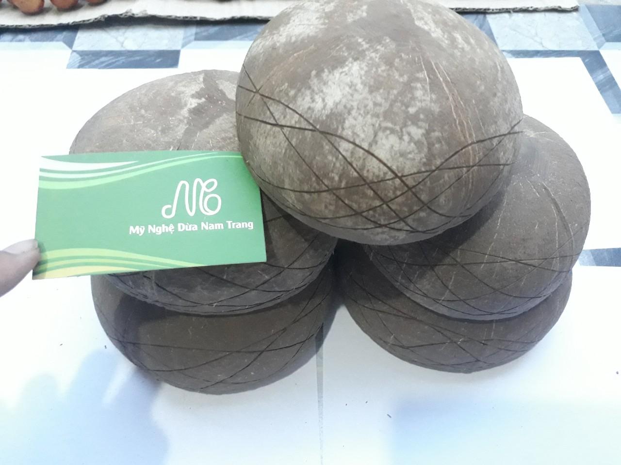 Tô gáo dừa K18 - Mỹ Nghệ Dừa Nam Trang