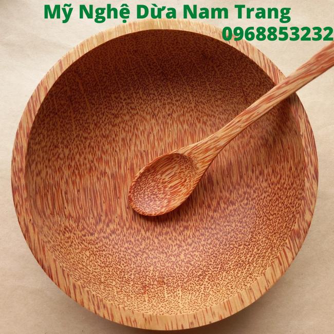 Tô gỗ dừa 18cm - Mỹ Nghệ Nam Trang