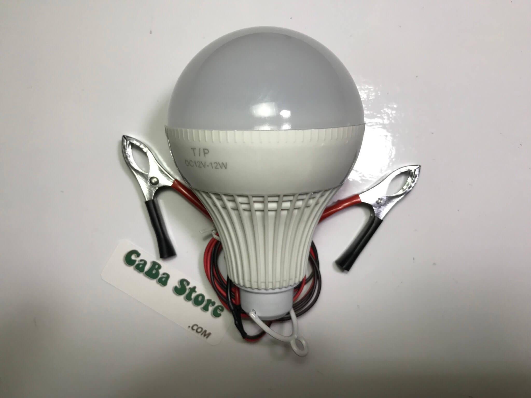 Bóng đèn led 12V-12W Ánh sáng trắng | Bao đổi trả | CaBa Store