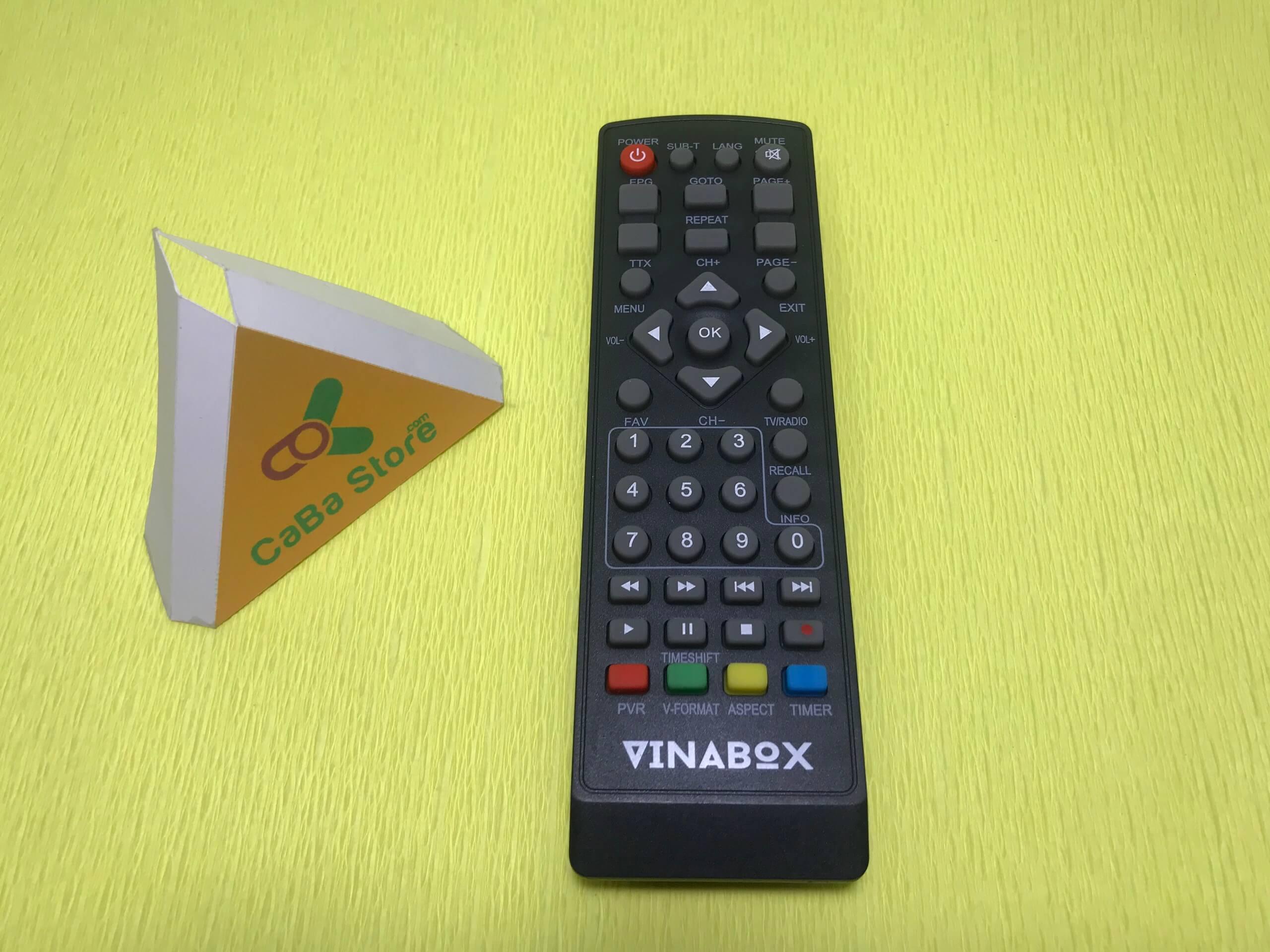 Đầu thu mặt đất DVB-T2 Vinabox T220s | Uy Tín - Chất Lượng
