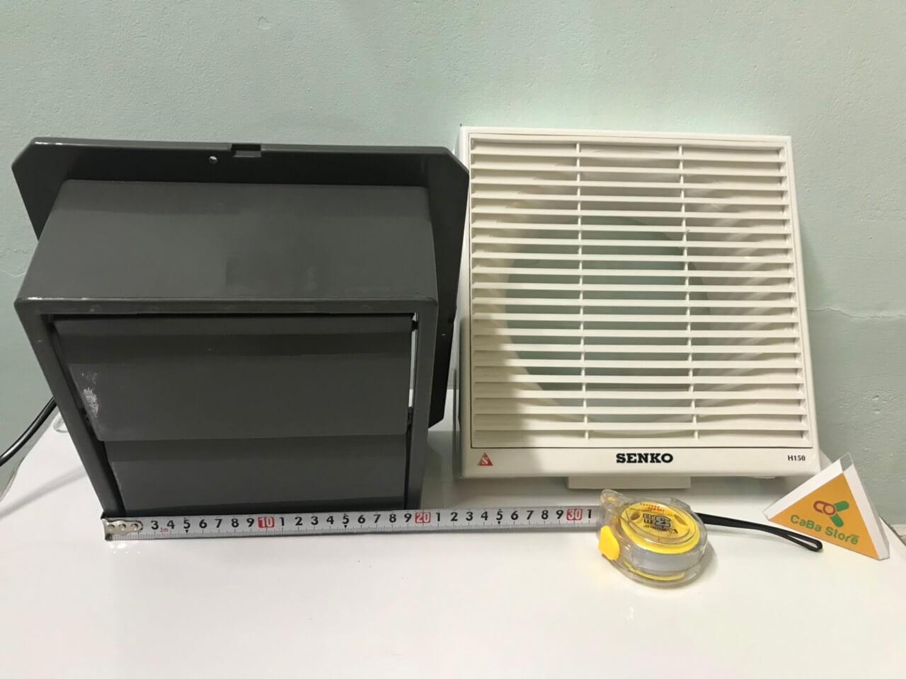 Quạt hút âm tường Senko H150 chính hãng loại 1 | CaBa Store