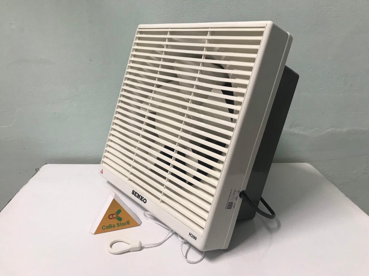 Quạt hút Senko H200 | 2 chế độ gió - Bền bỉ - Vận hàng êm ái