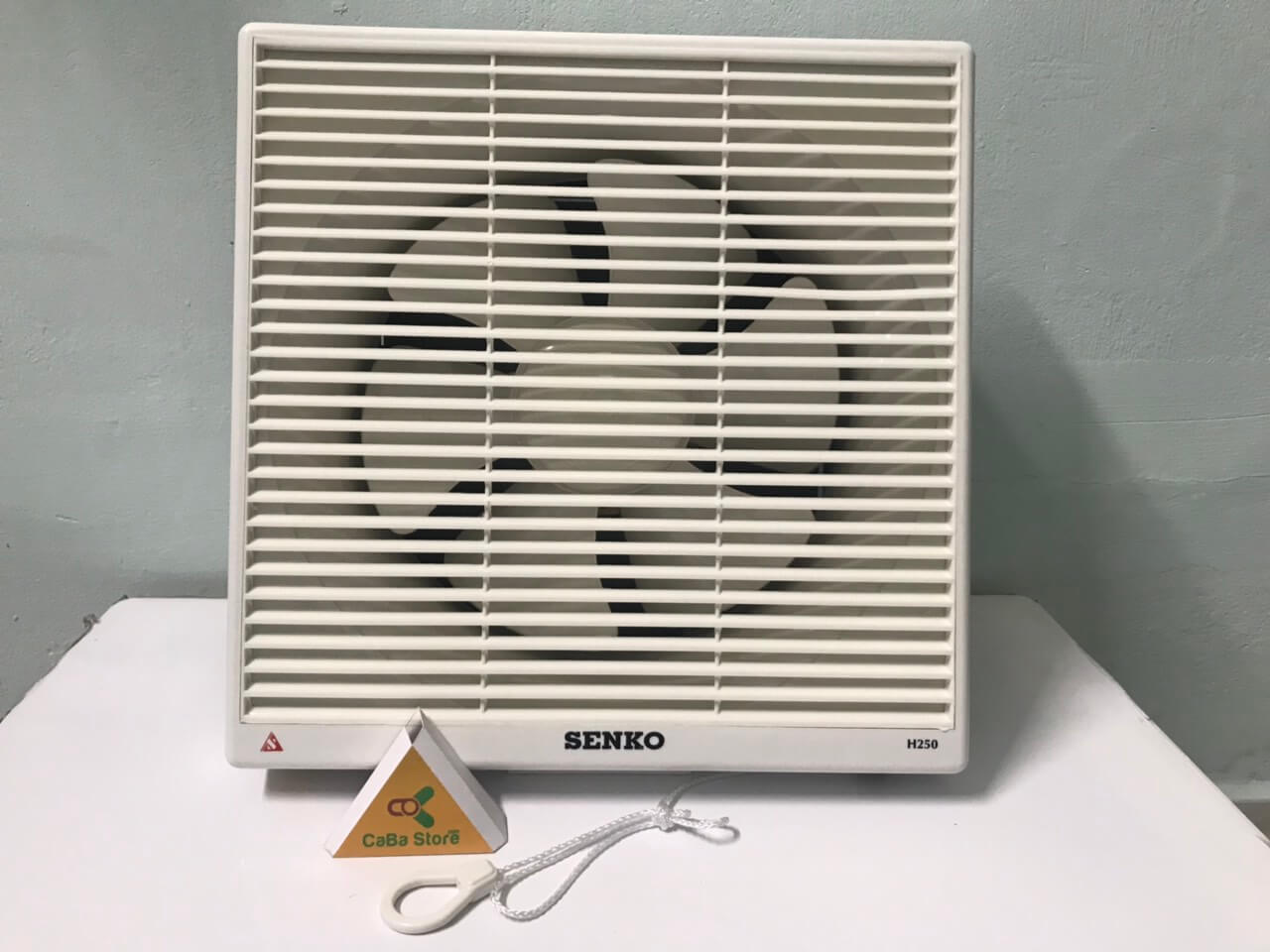 Quạt hút Senko H250 2 chế độ gió - Bền bỉ - Vận hàng êm ái