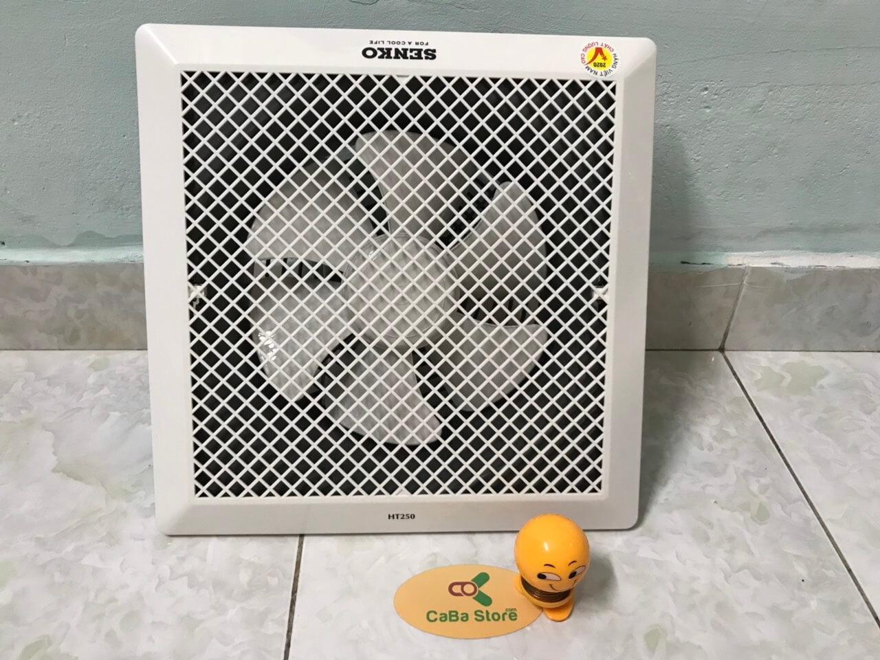 Quạt hút âm trần Senko HT250 - Lắp nhà bếp, Nhà tắm, Phòng ngủ