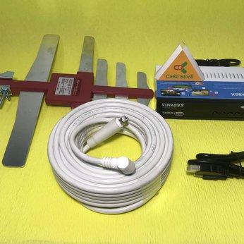 Trọn bộ đầu thu truyền hình mặt đất GIÁ RẺ + Dây HDMI | Giao hàng miễn phí