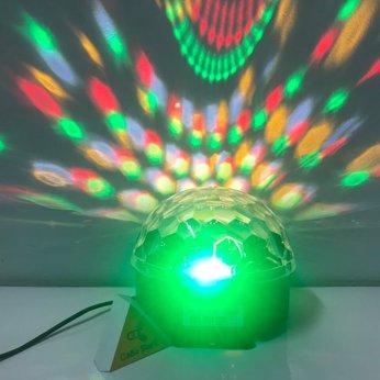 Đèn vũ trường Magic Ball chớp theo nhạc -  Kiêm loa Bluetooth | Free Ship