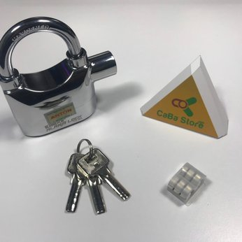 Ổ khóa chống trộm báo động Kinbar 110dBA