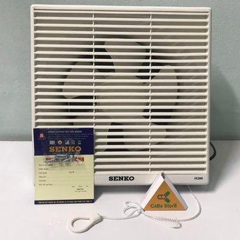 Quạt hút âm tường Senko H200 | Lỗ gắn tường 25x25cm