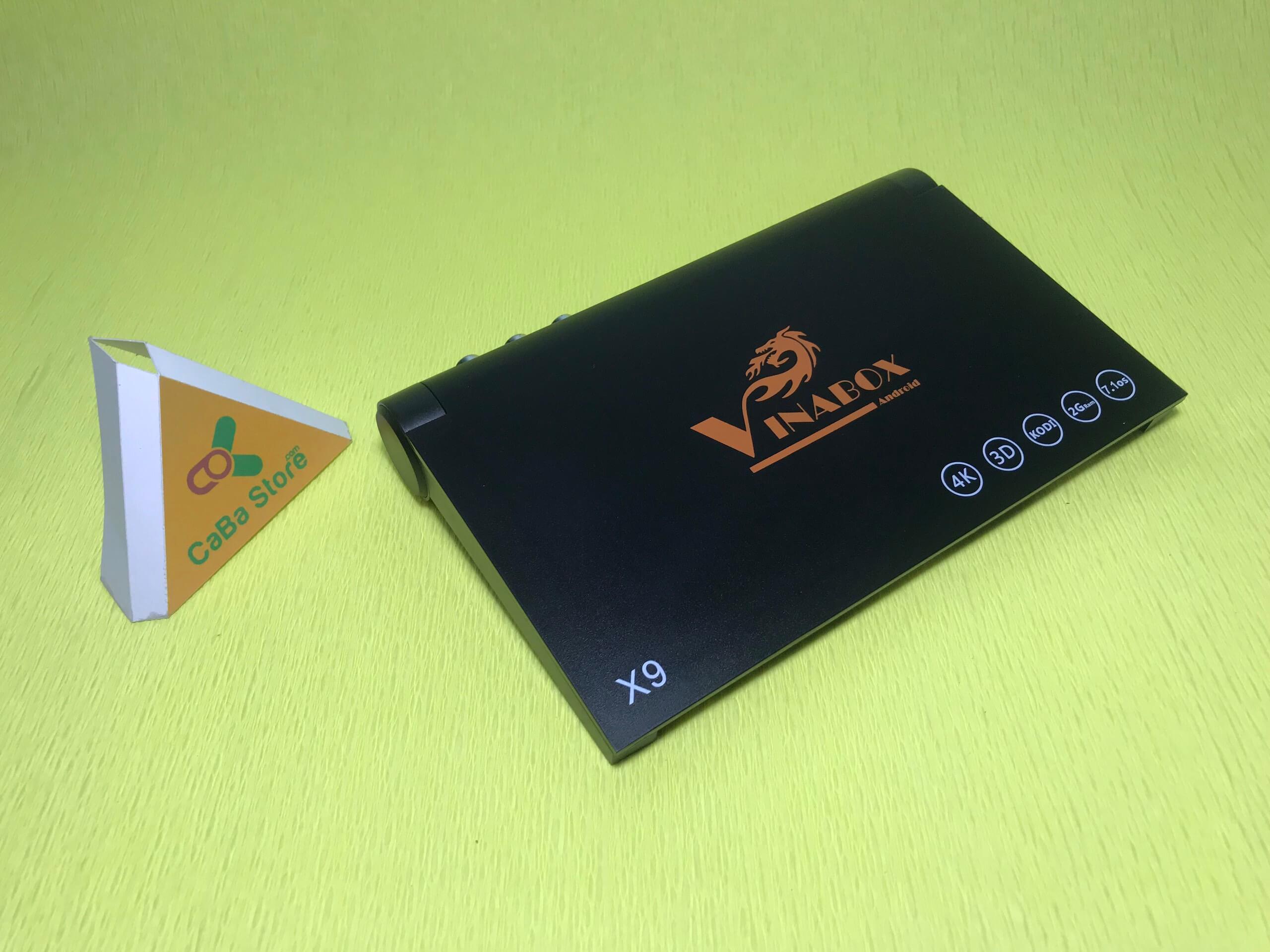 Android TV Box Vinabox X9 | Tìm kiếm qua giọng nói - RAM 2GB
