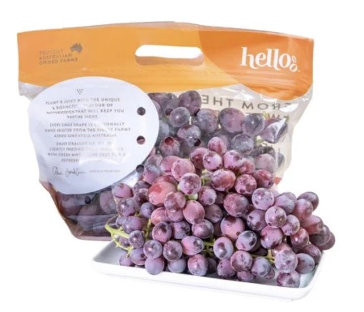 Nho đỏ kẹo Hello Úc mới về 2021 - ❤️Candy Heart ❤️(hộp 500 gram)