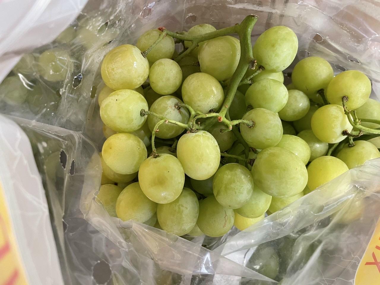 Nho xanh hydix sweet globe Nam Phi giòn ngọt mới 2021(túi 1kg)